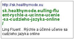 http://sk.healthymode.eu/ling-fluent-rychle-a-ucinne-ucenie-sa-cudzieho-jazyka-online/